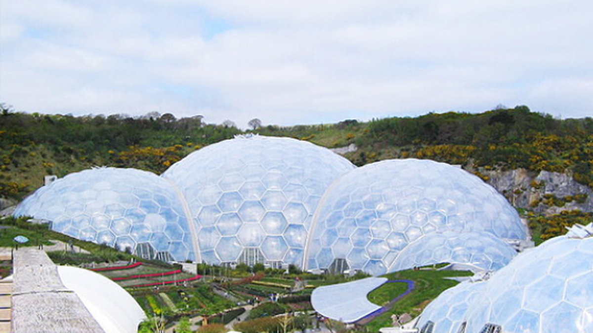The Largest Greenhouse in the World.